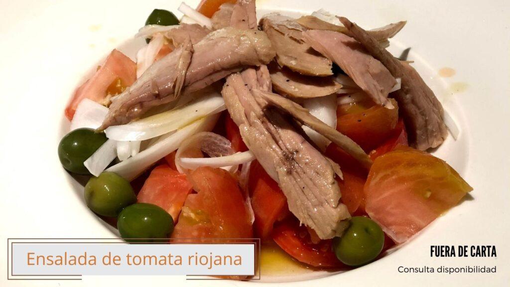 Ensalada de tomata riojana